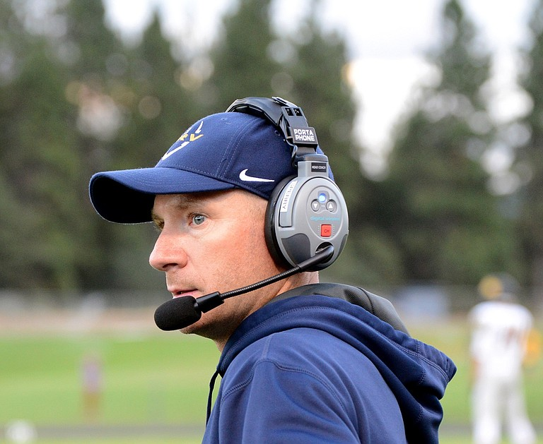 HRV Eagles football has started its season 1-0 for the first time since the 2015-16 season. Due to the fire in Cascade Locks, Head Coach and Offensive Coordinator Caleb Sperry (above) will be forced to prepare his team indoors this week before they welcome Gresham on Friday for the HOF game at HRVHS.