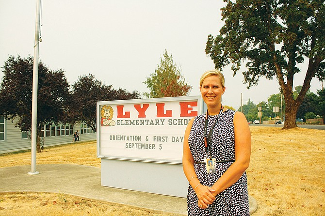 Amber Eaton moves from assistant principal at Dallas High to head principal at Lyle.