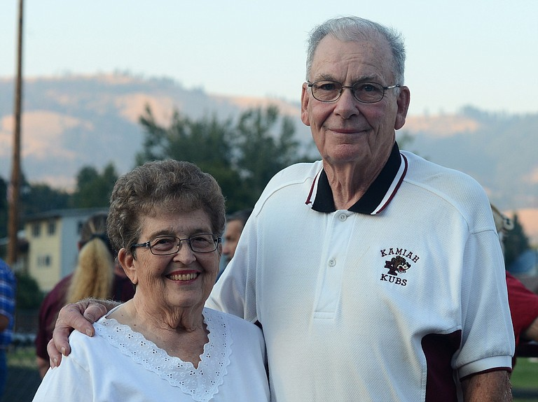 Kamiah honored track and field and football coach Bob Squires last Friday night, Sept. 1, by naming their facilities after the man credited with building the Kubs into a frequent champion on the gridiron and a perennial contender for the track and field state titles.