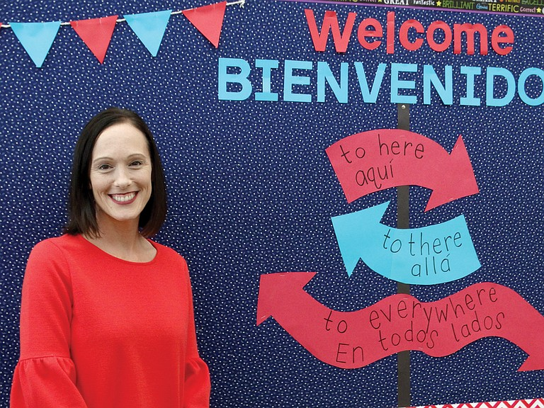 Ashley Wildfang is eager for students to arrive at the first day of school Tuesday. She is the new principal at Ash Creek Elementary School.