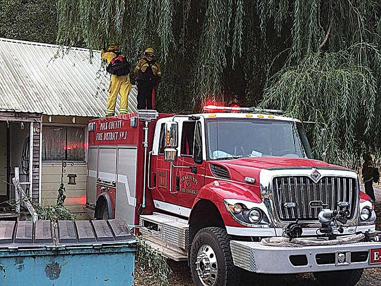 Local fire crews have helped battle the Eagle Creek Fire and at the Chetco Bar Fire.