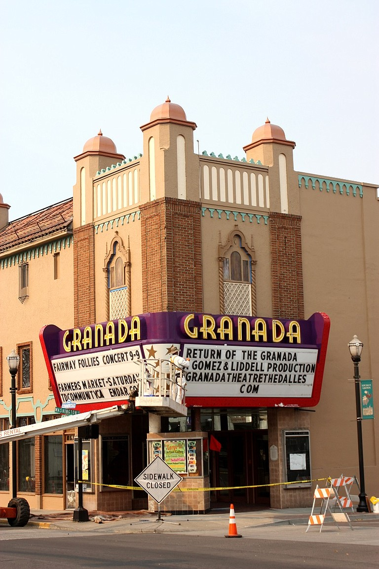 The Granada Theater in The Dalles is going through extensive improvements. The historic theater is set to reopen in November, along with related celebrations.