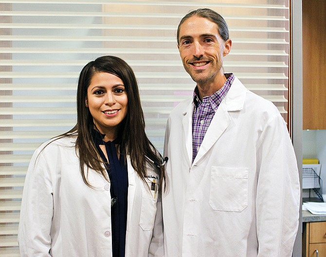 Maricela Ramirez, P.A. and Blake Bond, M.D. are the newest members of the Swofford and Halma Clinic. Ramirez is already seeing patients. Bond will begin seeing patients Oct. 16.