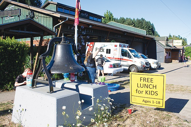 The Falls City Fire Department hosts a National Night Out Event in August. The city and Southwestern Polk Fire have struggled on an agreement.