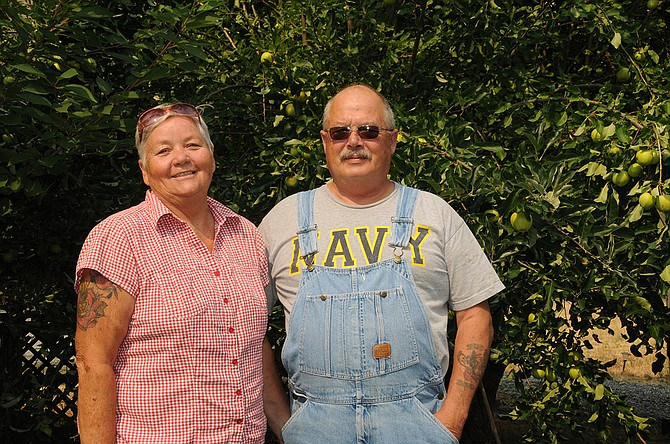 Tresa Shearer and Ron Fiscus are the owners of Fiscus Farm in Pollock