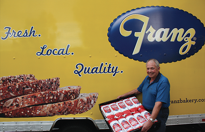 Franz Bakery Supervisor Dave Long retired on Sept. 22 after 34 years of delivering bread in and around The Dalles.