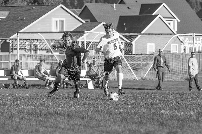 Caleb Lingel helped lead a Horizon attack to one goal on Tuesday against Livingstone.