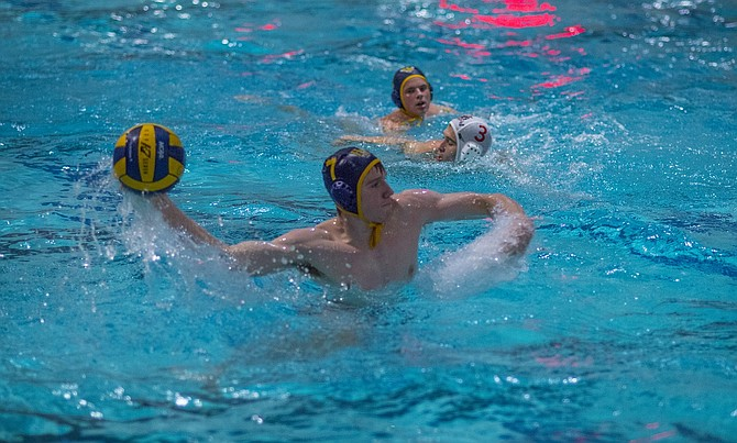 Boys and girls water polo went a combined 4-1this week, winning both of their matchups against league opponents. Chad Klaas (above) helped lead an attack that scored 20 points against David Douglas.