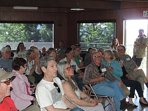 Hood River Valley Residents Committee celebrated its 40th anniversary in May, pictured above. The annual H is for Harvest benefit happens Oct. 7.