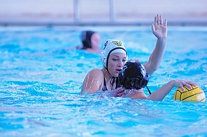 Girls Water polo: Lauren Orr is third on the team this season in steals with 21 and also has helped on the offensive end with a total of 14 goals.