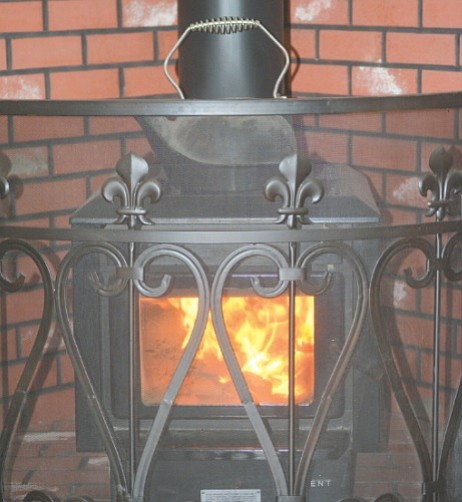 A clean chimney and dry, seasoned firewood can prevent woodstove-owners from house fires.