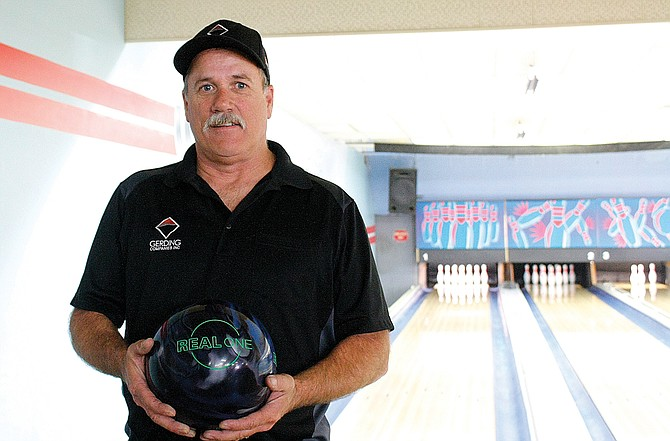 Darrell Cooper works to bring back bowling leagues.