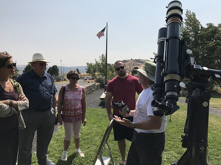 GOLDENDALE Observatory's Bob Yoesle will guide a solar viewing event, which will be held weather permitting and is free to the public. Museum admission still applies for visitors who wish to see the exhibits.