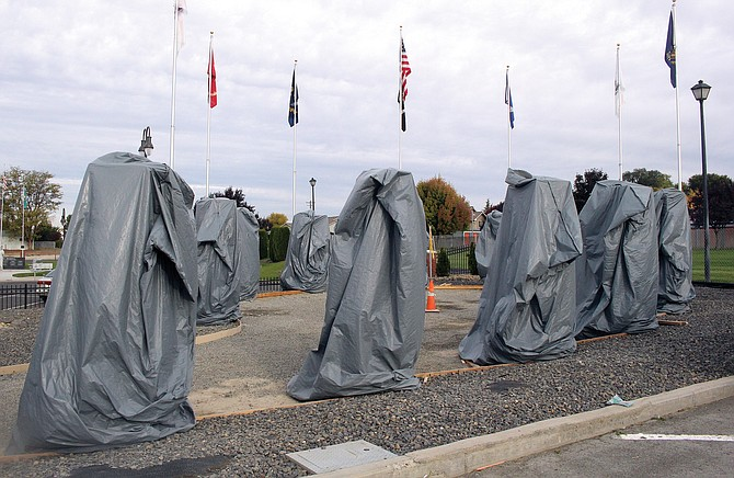 Monuments at the new Zillah Veterans Memorial will be unveiled Nov. 11 during a public observance.
