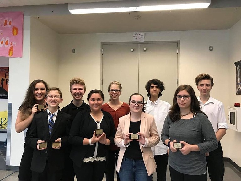 On Saturday, Oct. 7 the HRVHS Speech and Debate Team hosted an invitational novice competition. Along with Hood River's own novice competitors, several other high school teams came to compete in the first tournament of the year.