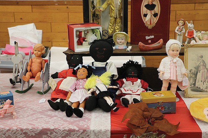 The annual Doll Show returned to the Polk County Fairgrounds on Saturday. The show featured collectible dolls of all sizes.