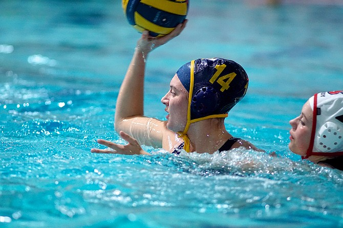 Senior Captain Lauren Orr has tallied in four assists, three goals and three steals over the last two games for the HRVgirls water polo team. The girls currently sit at first place in league standings as they're 9-0 and beat two tough league opponents this past week: Reynolds and Sandy.