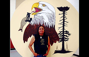 """Foster Kalama will be performing Native American flute music Sat. Nov. 4, during the """"Columbia River Indian Autumn"""" event at the Columbia Gorge Discovery Center."""