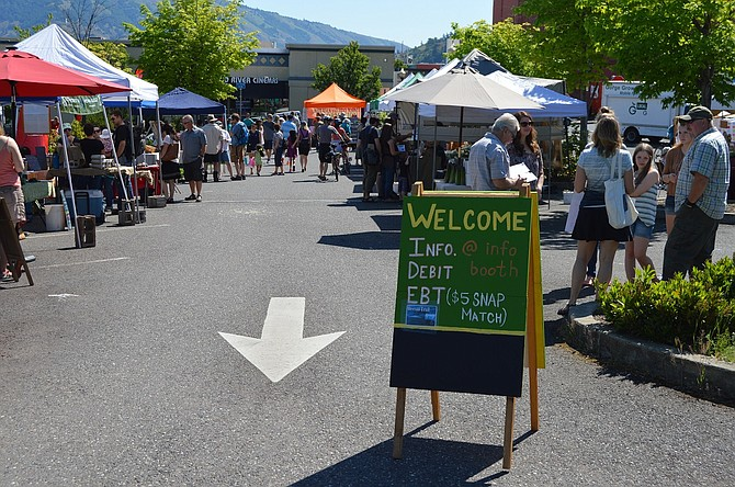 Hood River Farmers' Market is open Saturdays from 9 a.m. to 1 p.m. through Nov. 18 at the Fifth and Columbia parking lot and features seasonal produce, kids' activities and live music.