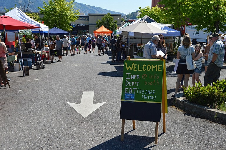 Hood River Farmers' Market is open Saturdays from 9 a.m. to 1 p.m. through Nov. 18 at the Fifth andColumbia parking lot and features seasonal produce, kids' activities and live music.