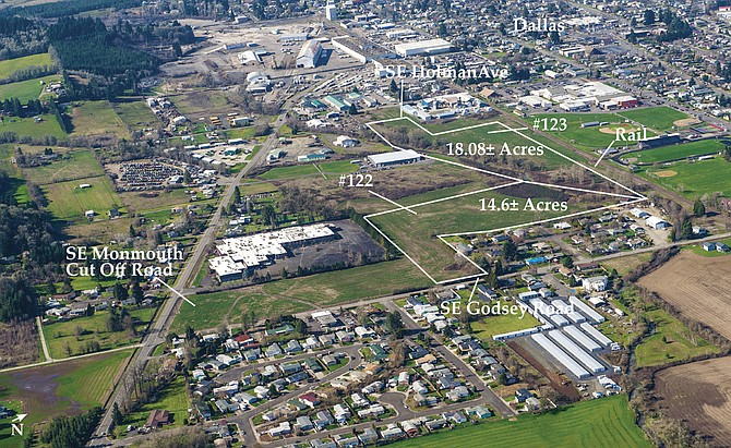 The final two industrial sites along Southeast Godsey Road and Holman Avenue are up for auction on Nov. 15.