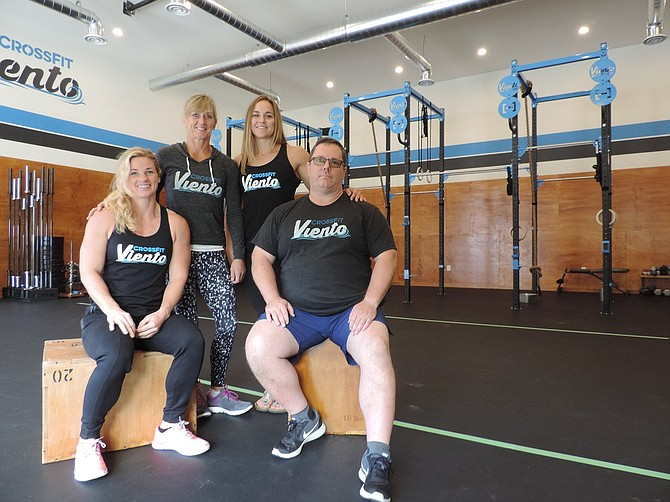 CROSSFIT VIENTO owners are Karen McAdam, Christine Wells, Regan Huckaby, and Bill Vawter.