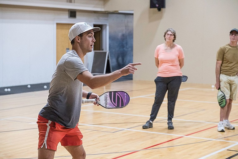 Pickleball: Tyson McGuffin is the world's number two player.