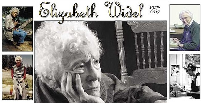 A memorial service for Elizabeth Widel be at 11 a.m. Saturday, Nov. 4, at the Omak United Methodist Church, 130 N. Cedar St., with a potluck following.