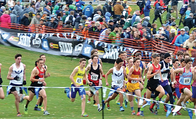The boys 4A race included Sunnyside's Michael Condie, the first Grizzly to qualify since 2007.