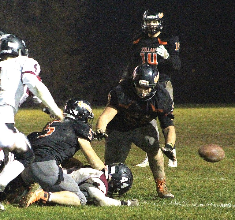 A Zillah fumble late in the fourth quarter was eventually recovered by Newport, effectively sealing the fate of the Leopards.
