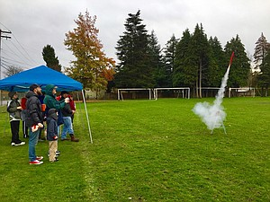 Hood River Hobbies hosts its annual Thanksgiving rocket building and launch class on Wednesday, Nov. 22 from 11 a.m. to noon.