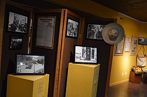 Display, detailing the 1940s Braceros Program, is part of the Latino Experience exhibit showing now at the history museum.