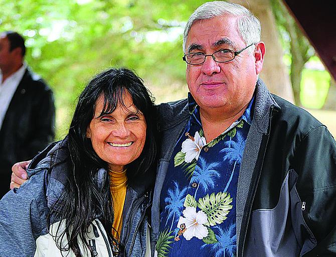Elena Pena said husband Raul is a big supporter.