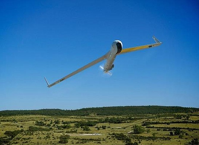ANINSITUAIRCRAFT flies. The Bingen company has announced a contract with QGC to manage an air vehicle program in Australia.