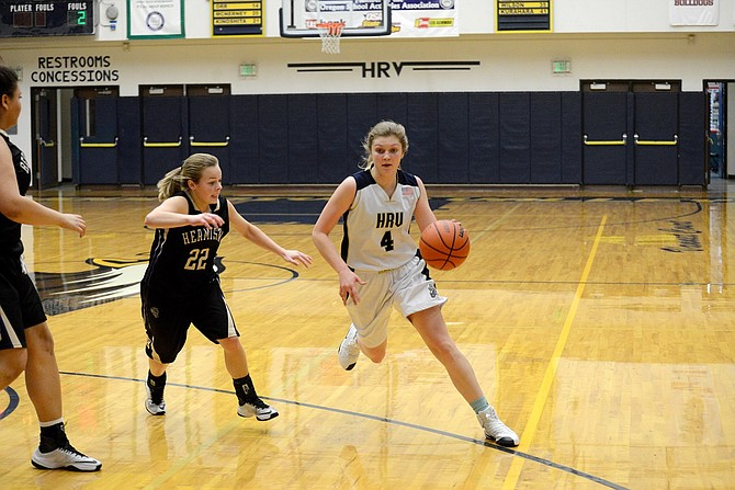 HRVGirls basketball is currently 1-2 this season and last Friday in their win over La Grande, Emily Curtis and the Eagles combined for 62 points.