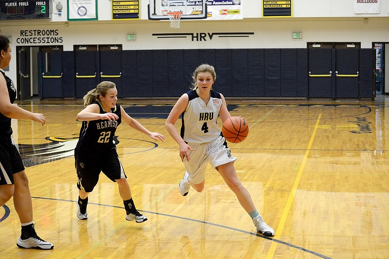 HRV Girls basketball is currently 1-2 this season and last Friday in their win over La Grande, Emily Curtis and the Eagles combined for 62 points.