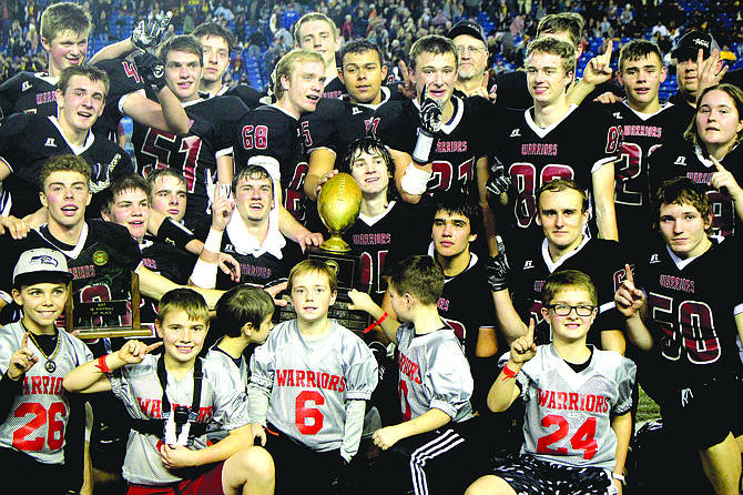Almira/Coulee-Hartline claimed its second state 1B football champion in three years at the Tacoma Dome on Dec. 1.