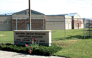 The Northern Oregon Regional Corrections Facilities, above, has both adult and juvenille detention areas.