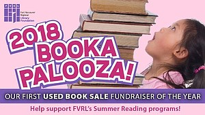 FVRL Foundation Bookapalooza 2018