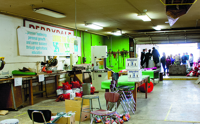 A grant will help Perrydale Schools update their shop facilities, bringing students into 21st century education.