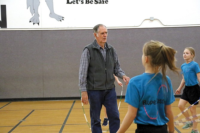 Jim Dent has coached the Rope Busters since 1981. The Rope Busters perform throughout the year at different schools and events.