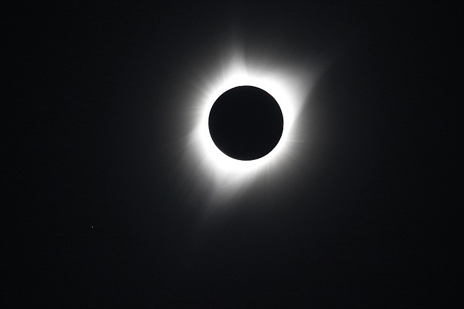 One of the highlights of 2017 was the Great American Eclipse on Aug. 21.