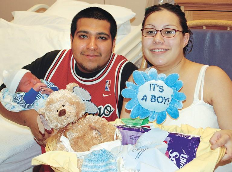 2008: Julian Daniel Gonzalez was the first baby born in 2008 to Regina Miranda and Fabian Gonzalez at Sunnyside Community Hospital.