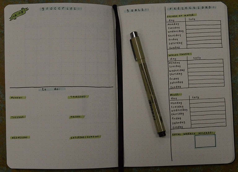 The Hood River Library hosts a bullet journal class this Saturday. Bring your own notebook and pens, or use scratch paper provided by the library.