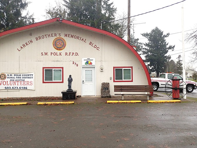Southwest's Rickreall Station is one of two places from which district firefighters could respond to Falls City.