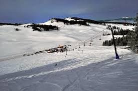 Sitzmark Ski Hill in winter.