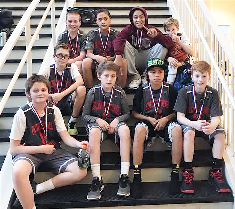 CGBA sixth-grade squad hoists title hardware | The Dalles Chronicle