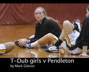 The Dalles Wahtonka varsity girls basketball team defeats Pendleton Friday, Feb. 2. Mark B. Gibson video
