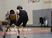 The Dalles Wahtonka varsity wrestling versus Franklin High School.