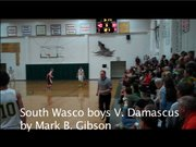 South Wasco varsity defeats Damascus Christian in state playoff action Tuesday night in Maupin. Mark B. Gibson video